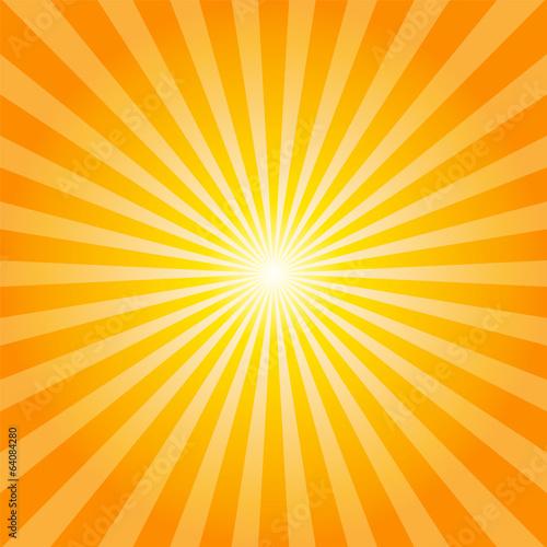 Foto Orange rays texture background
