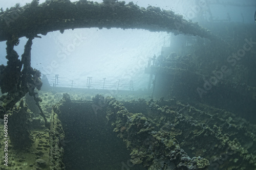 Poster Naufrage umbria ship wreck in red sea
