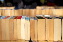 Row Of Secondhand Books