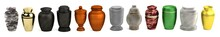 Realistic 3d Render Of Urns