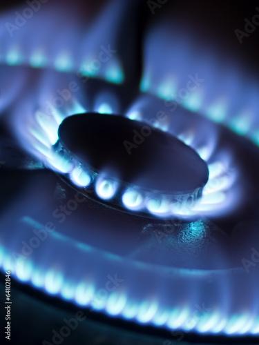 Fotografie, Obraz  gas stove