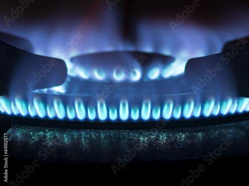 Fotografía  gas stove