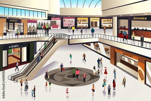 Fotografía  Shopping mall