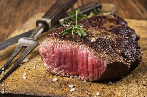 Foto op Plexiglas Steakhouse Steak