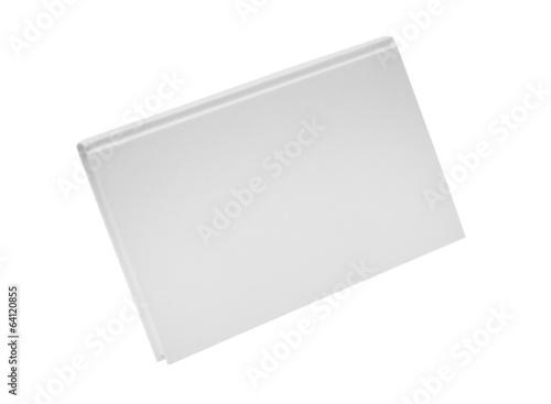 Vászonkép hard back casebound white covered book