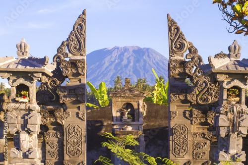 Foto op Aluminium Bali Mt. Agung, Amed, Bali.