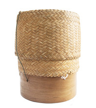 KRATIP,thai Laos Bamboo Sticky Rice Container