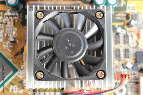 Photo プリント基板 CPU冷却ファン