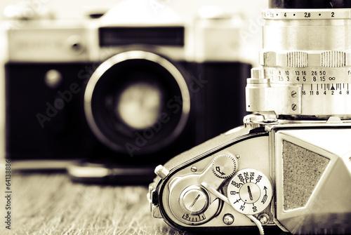 szczegolu-widok-klasyczne-kamery-w-monochromu