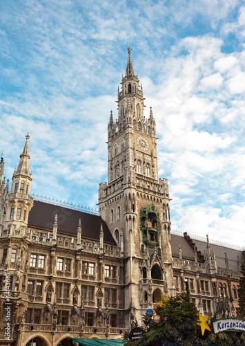 Staande foto Praag New city hall at Marienplatz Munich