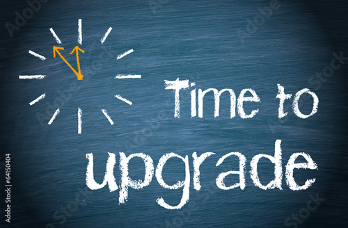 Fotografía  Time to upgrade