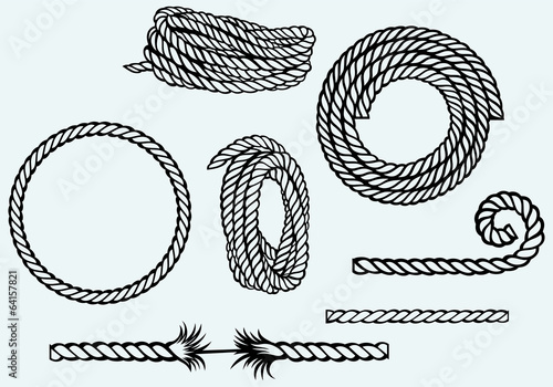 Fotomural Nautical rope knots