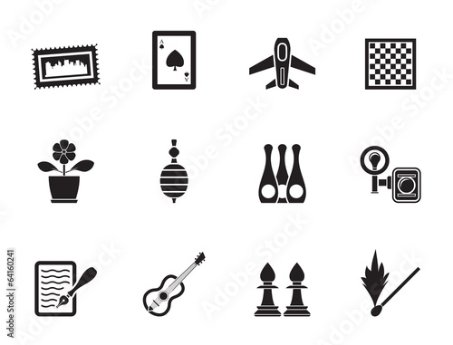 Fotografia  Silhouette Hobby, Leisure and Holiday objects