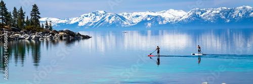 Obraz na plátně  Paddle boarding