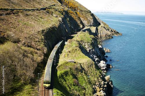 Fotomural Cliffwalking Between Bray and Greystones, Ireland