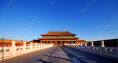 Canvas Prints Peking Forbidden City