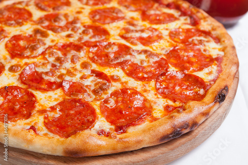 Photo  Pizza Diavola Salamy