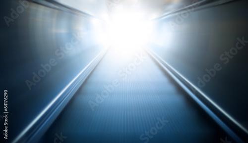 moving escalator Poster Mural XXL