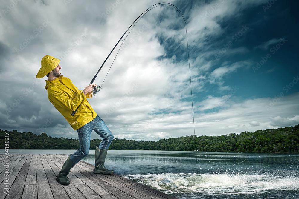 Fototapety, obrazy: Fisher