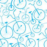Wzór rowerów bez szwu. Rowery. Użyj do wypełnień deseniem, powierzchni - 64186838
