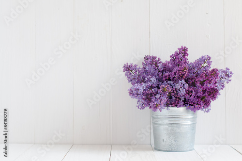 Photo sur Toile Lilac flowers of lilac