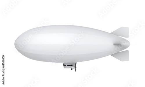Airship Isolated Wallpaper Mural