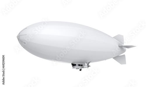 Photo Airship Isolated