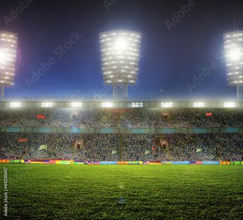 Staande foto Voetbal stadium with fans