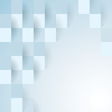 Blue geometric vector background.