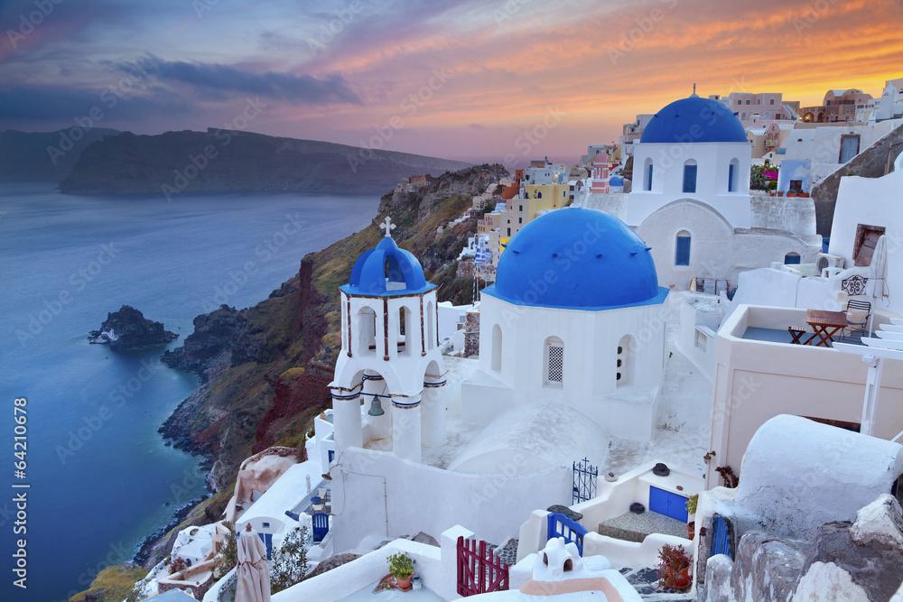 Fototapety, obrazy: Santorini.