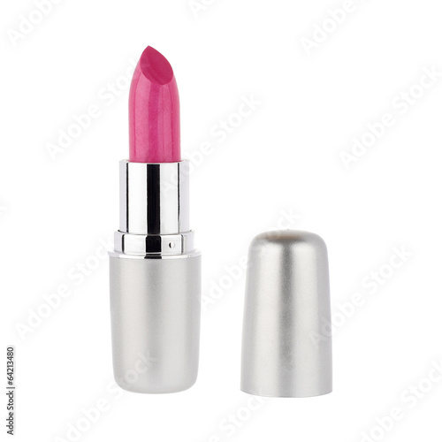 Fotografie, Obraz  Red lipstick isolated on white background