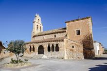 San Gines Church In The Rejas De San Esteban