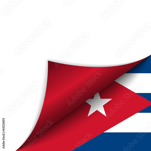 Photo Cuba Country Flag Turning Page