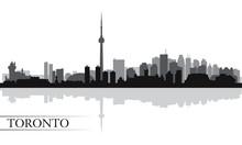 Toronto City Skyline Silhouett...