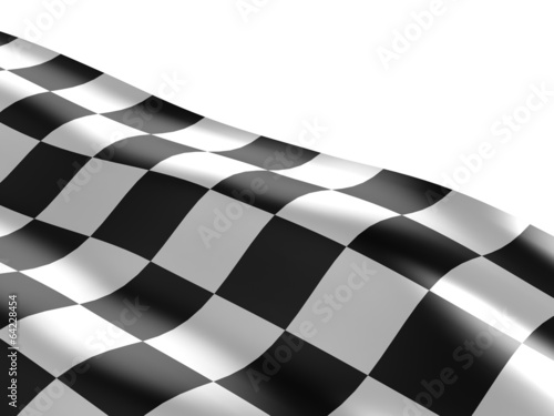 Foto op Plexiglas F1 Checkered flag texture.