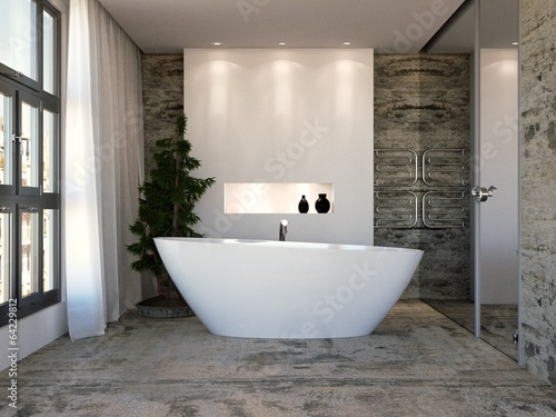 Foto  Bathroom in Studio Apartment