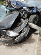 cars damaged during road accident
