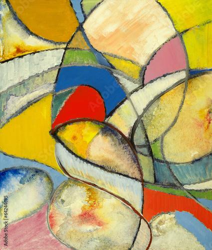 Obrazy abstrakcyjne abstrakcyjny-obraz