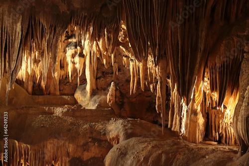 Les grottes....