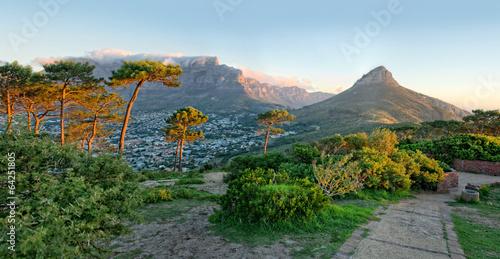 Foto op Plexiglas Zuid Afrika Signal Hill, Cape Town, South Africa