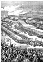 Military Exhibition (French Revolution) - End 18th Century