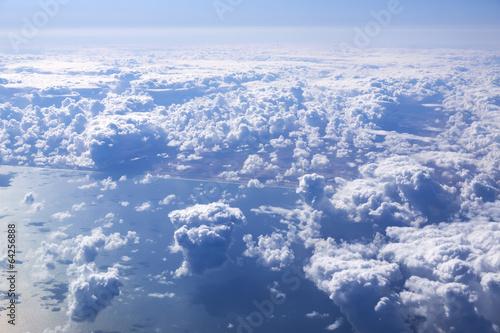 Papiers peints Arctique Cloudscape. Blue sky and white cloud.