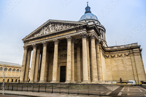 Photo Stands Paris View of Pantheon from place du Pantheon