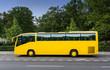 Gelber Reisebus