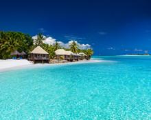 Beach Villas On Small Tropical...