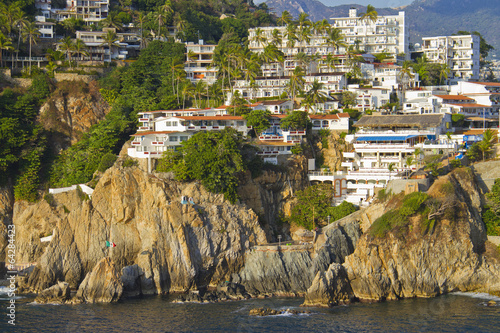 Fotografija  View on rocky coast of Acapulco