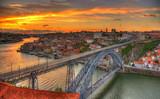 Most Ponte Luis w Porto