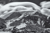 Cloud Over Cho Oyu (B&W)