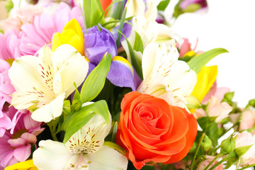 Fototapeta Romantyczny Beautiful flowers close up