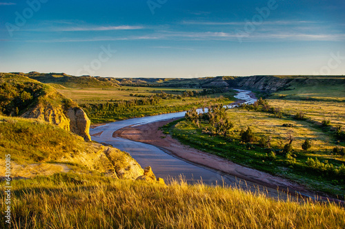 Photo North Dakota Badlands